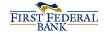 [logo] - first-federal-bank